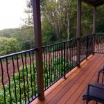 Deck overlooking bush