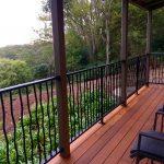 Deck overlooking bush